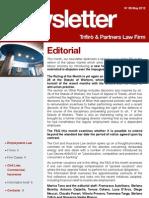 Newsletter T&P N°58 Eng