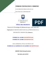 Estructura Del Proyecto 2011-II