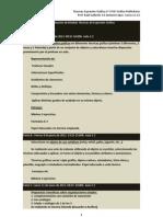 Procedimientos de Recuperación de Módulo Técnicas de Expresión Gráfica