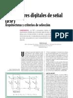 DPS - Arquitecturas y Criterios de Selecccion