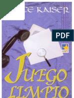 Janice Kaiser - Juego Limpio