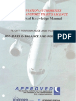Jaa Atpl Book 6- Oxford Aviation Jeppesen - Mass & Balance and Perfomance