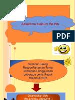 Power Point Seminar