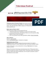 ITVfest + PopConLA