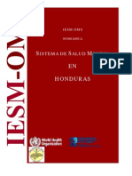 Salud Mental en Honduras.