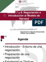 Negociaciones Sesion 9, 10 y 11