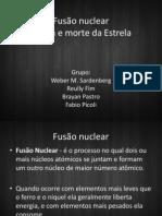 Fusão Nuclear e vida e morte de um astro