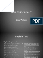 Latin Spring Project