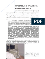 3.6 Ecografia Doppler Color en Oftalmologia