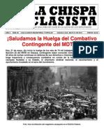 LA CHISPA CLASISTA NÚM. 88 DE MARZO 24 DE 2012
