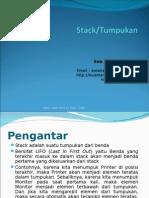Materi 8 - Stack