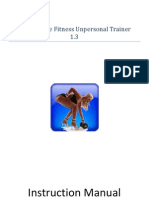 Self Bondage Fitness Unpersonal Trainer 1.3 Instructions Manual