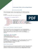 Relatório a partir de um documento xml