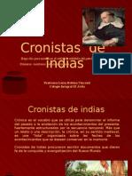 cronistas de indias