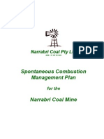 Spontaneous Combustion - Narrabri Mine
