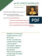 breve esbozo de la lírica española