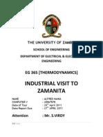 Zamanita Industrial Tour