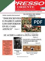 Expresso de Oriente 4 de Junio Del 2012