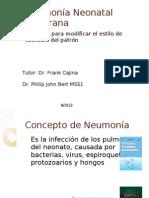 Neumonía Neonatal Temprana Scbrd