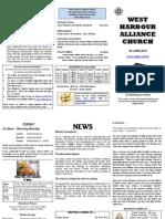 Church Newsletter - 03 June 2012