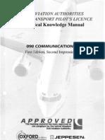 Jaa Atpl Book 14 - Oxford Aviation Jeppesen - Communication
