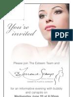 INVITE to Esteem & Dr Scamp Evening
