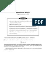 Apunte USM - Ecuaciones Diferenciales de Orden Superior