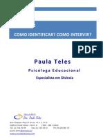 1. Dislexia - Como Identificar Como Iintervir - 2010