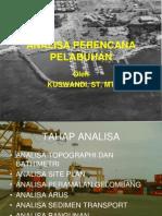 Materi 13 Analisa Perencana Pelabuhan