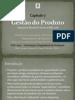 Cap 07 - Gestão do Produto