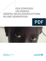 Human Rights Based Approah to Fgm