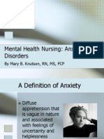 Mental Health_Anxiety Disorders