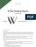 Example Wedding Plan -Goodish