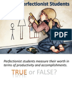 Perfectionist Students 1