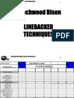 Beachwood Linebackers