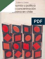 origen de la concentración urbana en Chile