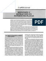 16 Reflexion y Refraccion en Superficies Planas