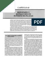 16 Reflexion y Refraccion en Superficies Planas