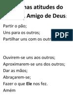 Algumas atitudes do cristão