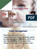 Nasal Decongestant