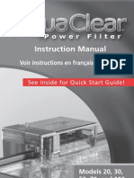 Aquaclear Manual Ingles