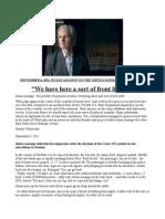 Julian Assange the Oruellianskaya Perspective