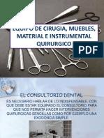 3 Equipos de Cirugia e Instrumental Quirurgico