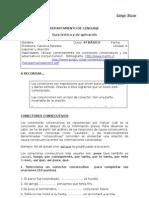 Guía conectores consecutivos y adversativos