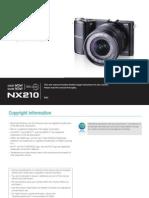 Samsung Camera NX210 English User Manual
