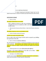 Australian Contract Law