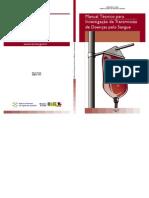 Anvisa Manual Técnico de Investigação de Doenças do Sangue