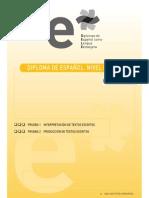 Ejemplo b1 Pruebas 1 y 2 Interpretacion y Produccion de Textos Escritos 25 de Noviembre 2006 1 Concurso de Pintura