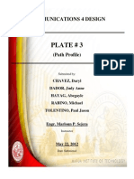 PLATE 3 - Path Profile Narrative)