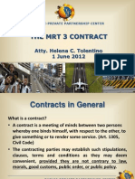 MRT3 BLT Contract